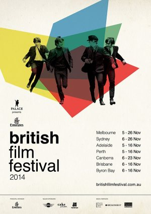 Emirates British Film Festival 2014 Poster